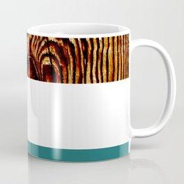 Wood Grain Print Coffee Mug