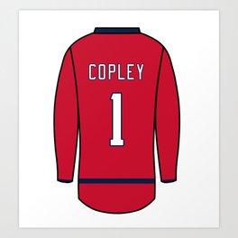 Pheonix Copley Jersey Art Print
