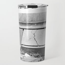 very old grave Travel Mug