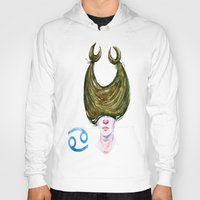 cancer Hoodies featuring Cancer by Aloke Design