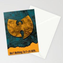 Wu tang slang Stationery Cards