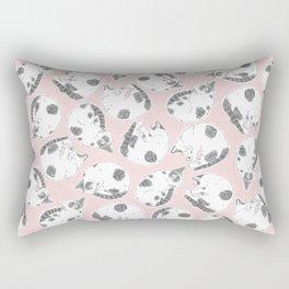 Sleepy Kitties Rectangular Pillow