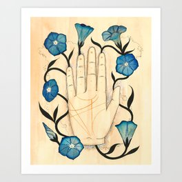 Empty/Bloom Art Print