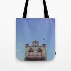 Green House Tote Bag