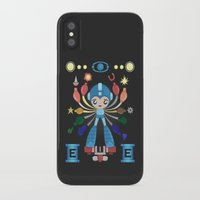 megaman iPhone & iPod Cases featuring MegaMan Shrine by MattBlanksArt
