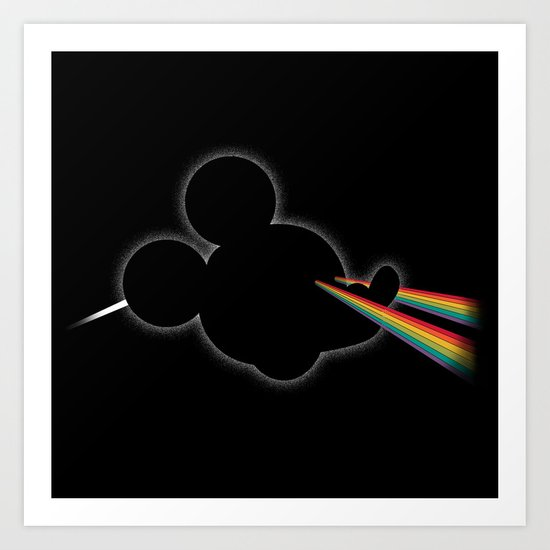 Dark Side of the Toon Art Print