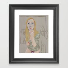 PTSD #1 Framed Art Print