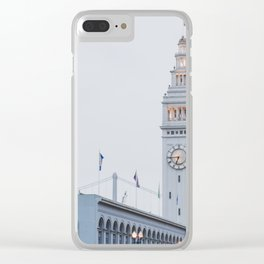 At the Ferry Building in San Francisco Clear iPhone Case