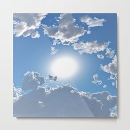 Beautiful Skies  Metal Print