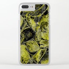 Dreams in yellow Clear iPhone Case