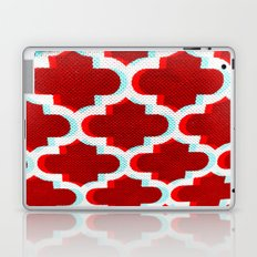 3 D Red Club Pattern Laptop & iPad Skin