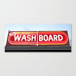 The washboard Canvas Print