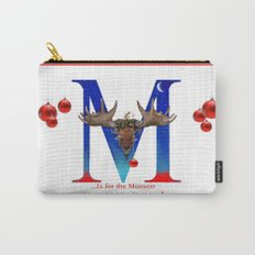 Let's Have The Moosest Merry-Making Holiday ! Carry-All Pouch