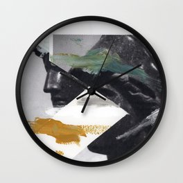 Untitled (Painted Composition 2) Wall Clock