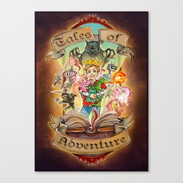 Tales of Adventure Canvas Print
