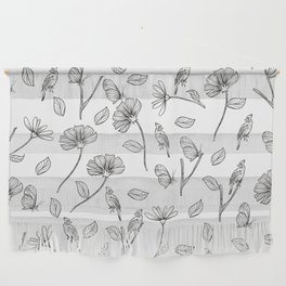 Birds and flowers Wall Hanging