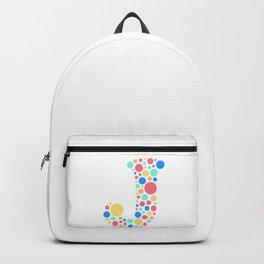 J Pastel Dots Backpack