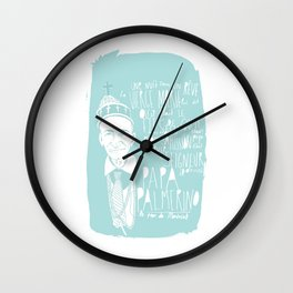 MONTREAL LEGENDS - PAPA PALMERINO Wall Clock