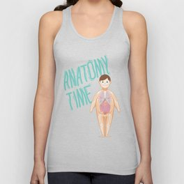 Anatomy Time Unisex Tank Top