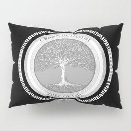 Tree of life (black) Pillow Sham