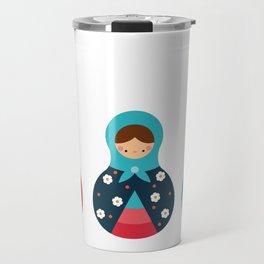 Matrioshkas Group Travel Mug