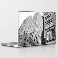 dallas Laptop & iPad Skins featuring Downtown Dallas by Sofleecori