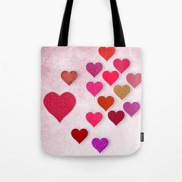Hearts Galore Tote Bag
