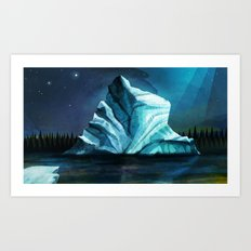 The Ice Ghost Art Print