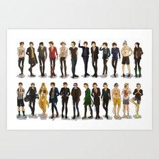 Styles' style Art Print