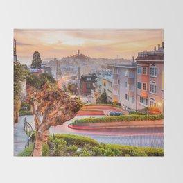 San Francisco 01 - USA Throw Blanket