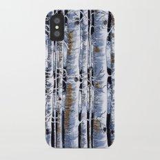 Birch Slap iPhone X Slim Case