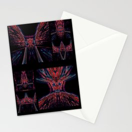 Red Agony Stationery Cards