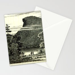 The Old Man of the Mountain Stationery Cards
