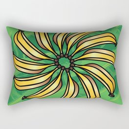 Banana Circle  Rectangular Pillow