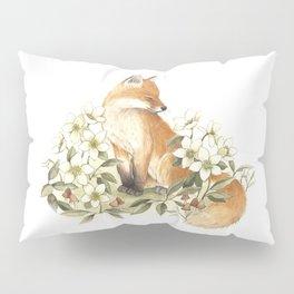 Springtime Fox Pillow Sham