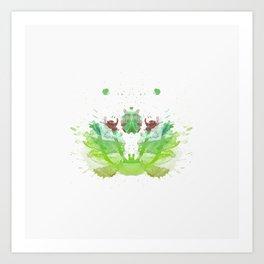 Inknograph XIX - Rorschach Art Art Print