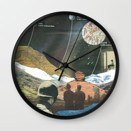 """Tribute to """"los desaparecidos"""" Wall Clock"""