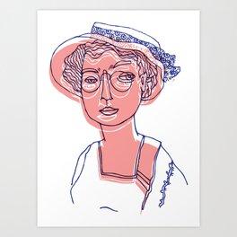 Dear Emma Art Print