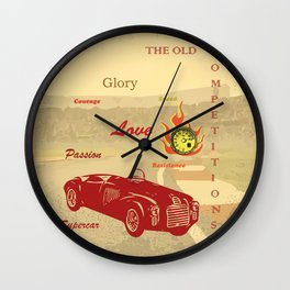 THE OLD COMPETITIONS Wall Clock