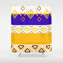 Tribal Selection Shower Curtain