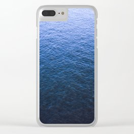 Blue Elbe Clear iPhone Case