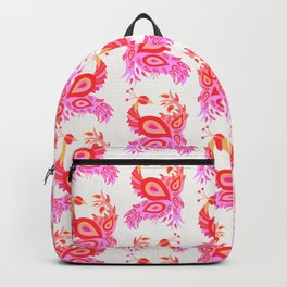 Peacock – Pink & Peach Ombré Palette Backpack