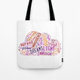 Wishes For The Cloths Of Heaven Tote Bag