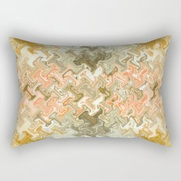 Tech Abstract Rectangular Pillow