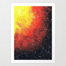 solar storm Art Print