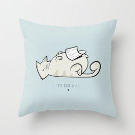 Tout doux liste — Gaston Throw Pillow