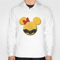 c3po Hoodies featuring C3PO Mouse  by Miranda Copeland