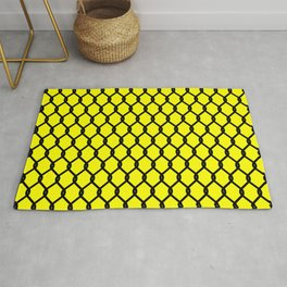 Chain-Link Fence (from Design Machine archives) Rug