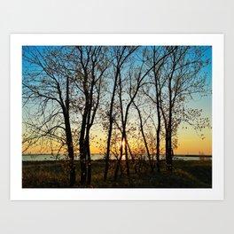 Spring in Muskegon Art Print
