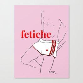 fetiche #3 (pink) Canvas Print